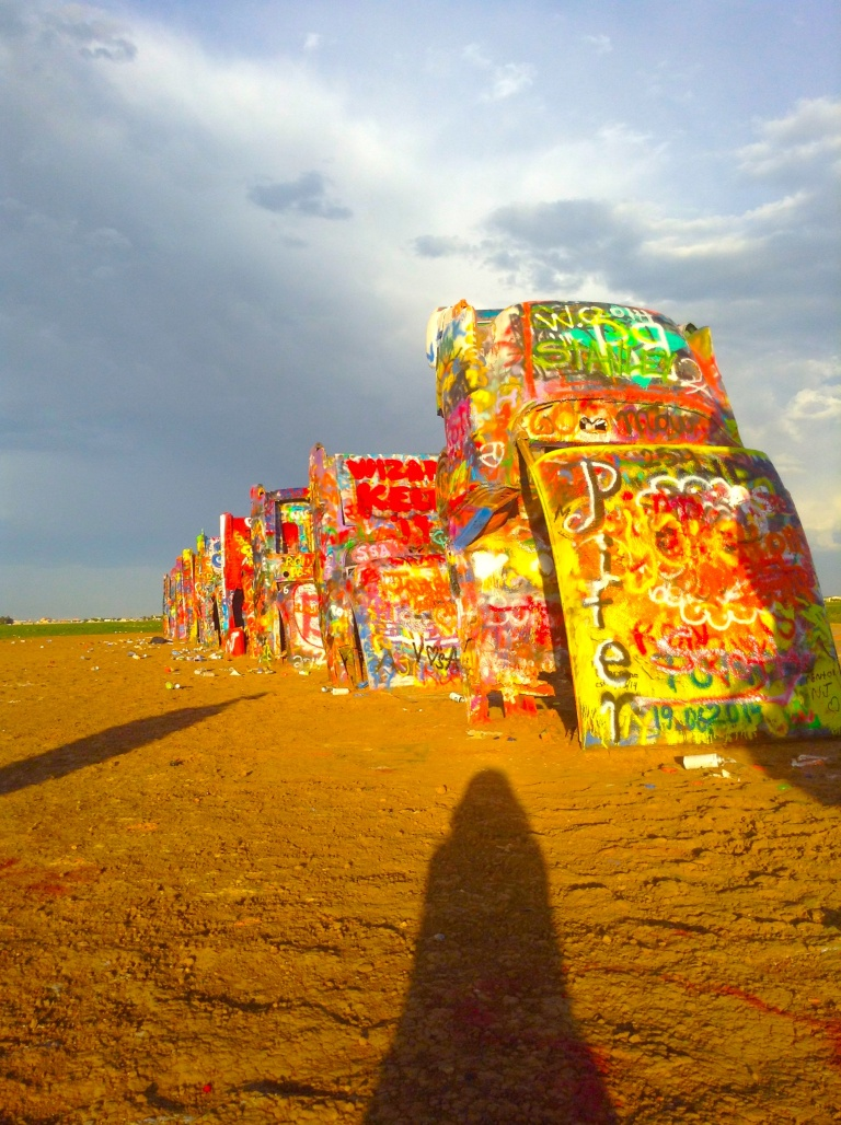 Cadillac Ranch. Amarillo, TX.