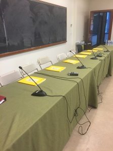Ready for the table read! I wrote 105 pages across two hour-long scripts for my Film capstone.