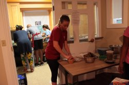 As a part of our Swahili Class, we cooked traditional Kenyan food.
